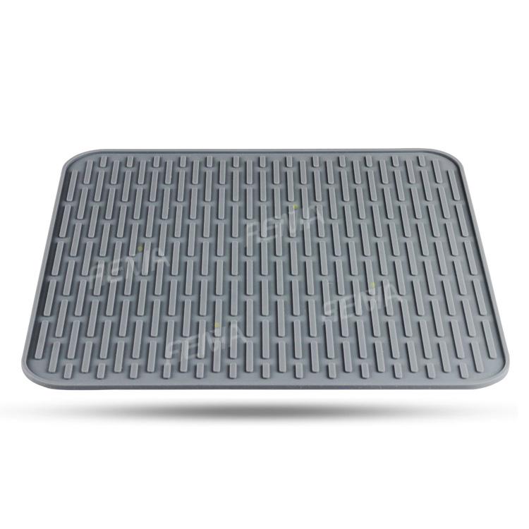 RENJIA kitchen drying mat silicone drying mat silicone dish ...
