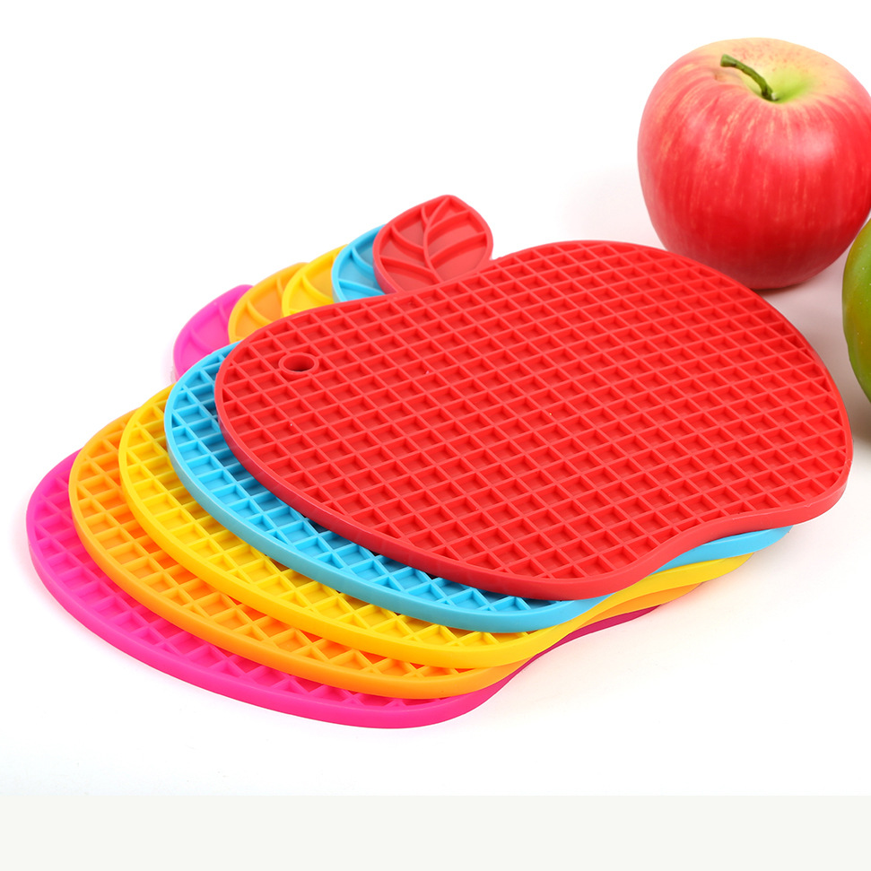 Cellular Silicone mat apple
